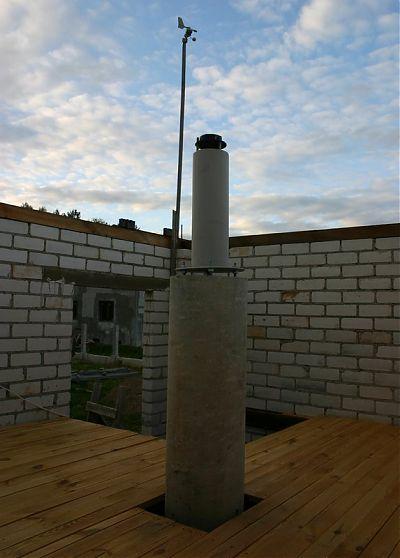 Обсерватория - колонна