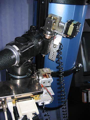 Моторизованная монти EQ5 общий вид