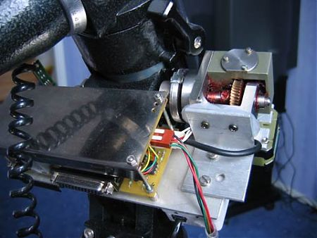 Моторизованная монти EQ5 RA движок