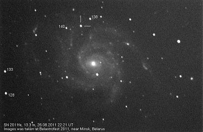 SN2011fe in M101